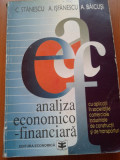 ANALIZA ECONOMICO - FINANCIARA - C. Stanescu, A. Isfanescu, A. Baicusi