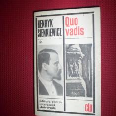 Quo Vadis-Sienkiewicz - Roman