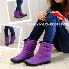 Ghete femei Puma Zooney Nylon Boot WTR 352597-02 - Ghete dama Puma, Culoare: Mov, Marime: 38, 40