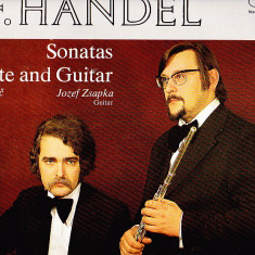 G, F, HANDEL SONATAS FOR FLUTE AND GUITAR - Muzica Opera