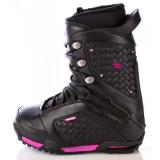 Snowboard boots, booti Raven Jewel Black Noi 39 - 25cm