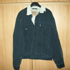 Vand/Schimb Geaca primavara Levi`s, Levi Strauss originala 100% cotton - Geaca barbati Levi's, Marime: XL, Culoare: Gri, Bumbac