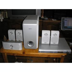 VAND / SCHIMB SISTEM 5 1 PHILIPS DVD/SACD HOME THEATER SYSTEM LX3900SA