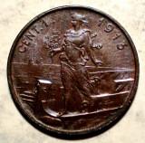 E.333 ITALIA VITTORIO EMANUELE III 1 CENTESIMO 1913 R XF, Europa, Bronz