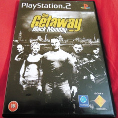 Joc The Getaway Black Monday, PS2, original, alte sute de jocuri! - Jocuri PS2 Sony, Shooting, 18+, Single player