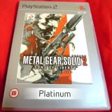 Joc Metal Gear Solid 2 Sons of Liberty, PS2, original, 19.99 lei(gamestore)!