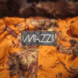 Blanuri luxoase, 3 la nr made in Italia, marca Mazzi...din nurca 100% naturala..., Marime: 48/50, Culoare: Coffee, Coniac, Maro, Piele