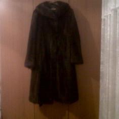 Haina din blana de marmota - haina de blana