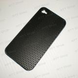 Toc Husa iPhone 4S Plastic. Negru