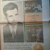 Ziarul veac nou 26 ianuarie 1973 (ziua de nastere a lui ceausescu )