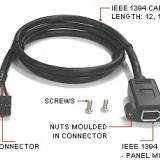 IEEE 1394 - 6 PIN INTERNAL