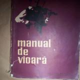 Manual de vioara(volumul 2)-Ionel Geanta, George Manoliu - Carte Arta muzicala