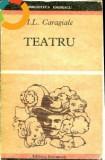 Caragiale-3 carti-Teatru;Momente si schite;La hanul lui Manjoala-nuvele si povestiri-selectie ,note de S Cioculescu (B1481), Alta editura