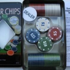 Set 100 jetoane pentru poker - Set poker