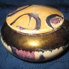 Bomboniera mica ceramica colorata -10_7 cm.