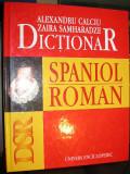 Dictionar spaniol-roman - Al.  Calciu, Zaira Samharadze (editia a ll-a)