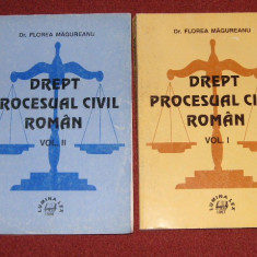 Drept procesual civil - Florea Magureanu (2vol) - Carte Drept procesual civil