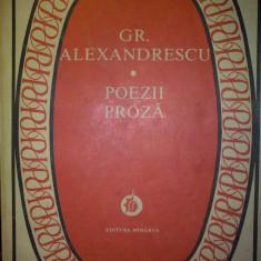 GR. ALEXANDRESCU - POEZII PROZA