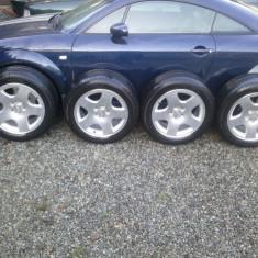 Jante Audi ,A6,A8 pe17,5x100  (8jx17 H2 ET48) ca si noi +cauciucuri 250E, 17, 8, 5