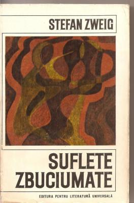 (C2585) SUFLETE ZBUCIUMATE DE STEFAN ZWEIG, ELU, BUCURESTI, 1968, TRADUCERE H. MATEI foto