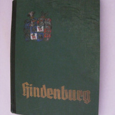 RARITATE! ALBUM NAZIST VON HINDENBURG DIN 1934