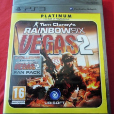 Tom Clancy's Rainbow Six Vegas 2, PS3, original si sigilat, alte sute de jocuri! - Jocuri PS3 Ubisoft, Shooting, 16+, Single player