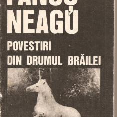 (C2586) POVESTIRI (DAR SI SCHITE SI NUVELE ) DIN DRUMUL BRAILEI DE FANUS NEAGU, ED. EMINESCU, BUCURESTI, 1989 - Nuvela