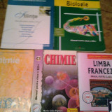 MANUALE ROMANA,CHIMIE ,LIMBA FRANCEZA ,BIOLOGIE ,STIINTE,MEMORATOR MATEMATICA, Art, Limbi straine