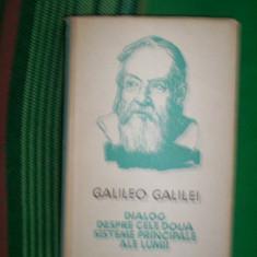 Dialog despre cele doua sisteme principale ale lumii-Galileo Galilei - Filosofie