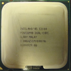 Procesor Intel Dual-Core E2180 2.0 GHz 1Mb cache FSB-800 socket 775 model SLA8Y, Intel Pentium Dual Core