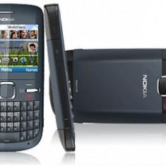 Nokia c3, Albastru, Neblocat, 2 MP