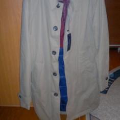 Palton de toamna-iarna Tommy Hilfiger NOU - Palton barbati Tommy Hilfiger, Marime: 50, Culoare: Maro, L