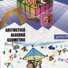 MATEMATICA - CULEGERE PT CLASA A V A PARTEA A II A de DORIN PELIGRAD MATE 2000 COMPER ED. PARALELA 45 - Culegere Matematica