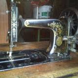 Masina de cusut originala marca germana FRISTER & ROSSMANN veche de 120 de ani