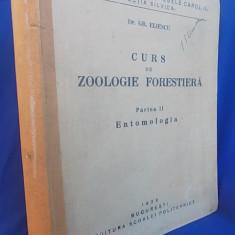 DR.GR.ELIESCU-CURS DE ZOOLOGIE FORESTIERA/ENTOMOLOGIA/SC.POLITEHNICA CAROL II/1936