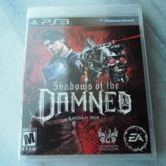 Joc Shadows of the Damned, PS3, original si sigilat, alte sute de jocuri! - Jocuri PS3 Ea Games, Actiune, 18+, Single player