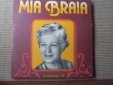 MIA BRAIA ROMANTE vol II disc vinyl lp muzica populara folclor STM EPE 01579, VINIL, electrecord