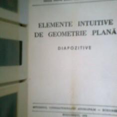 Elemente intuitive de geometrie... (48 Diapozitive) - GLOD F. - COLECTIV (1978)