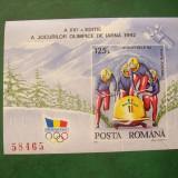 Romania 1992 Olimpiada Albertville LP 1276 - Timbre Romania