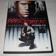 Vand dvd original cu filmul PRISON BREAK-Episoadele 17-18 - Film serial, Actiune, Romana