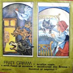 BASME de FRATII GRIMM (DISC VINIL) - Muzica pentru copii electrecord