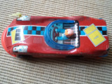 Masinuta auto jucarie de colectie tabla plastic china acrobatic sedan hobby