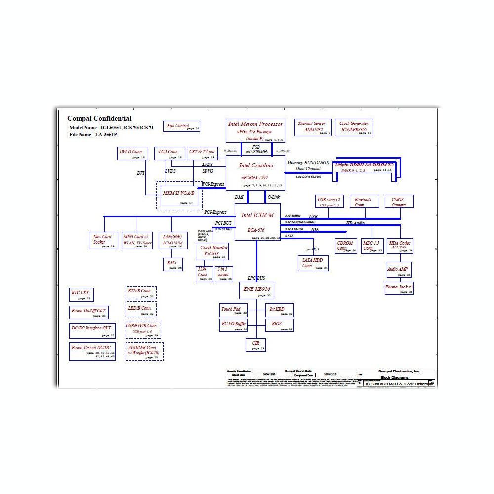 схема на icl50__la-3551p