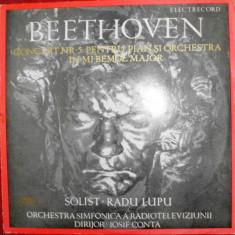 BEETHOVEN - CONCERTUL NR. 5 PT PIAN SI ORCHESTRA IN MI BEMOL MAJOR OP. 73 (