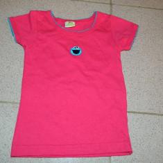 Tricou pentru copii, original Sesame Street, marimea 0-2 ani, REDUS ACUM!, Culoare: Rose