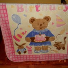 Paturica superba - Lenjerie pat copii, Alte dimensiuni, Multicolor