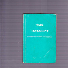 NOUL TESTAMENT - Carti bisericesti