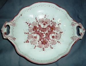 Farfurie / Centru masa / Fructiera -  decorativa - ceramica - Germania