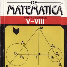 DICTIONAR DE MATEMATICA PENTRU CLASELE V-VIII de LUMINITA BADELITA - Enciclopedie