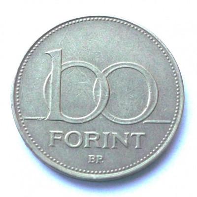 UNGARIA 100 FORINT FORINTI 1995 ** foto